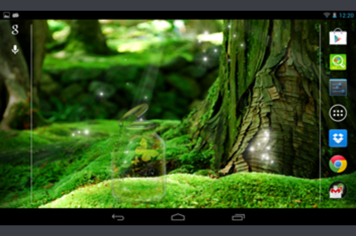 Galaxy S4 Magic forest