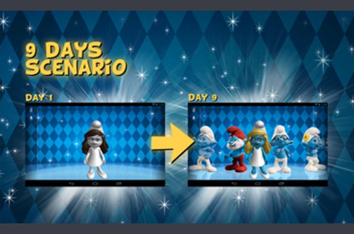 The Smurfs 3D Live Wallpaper 2