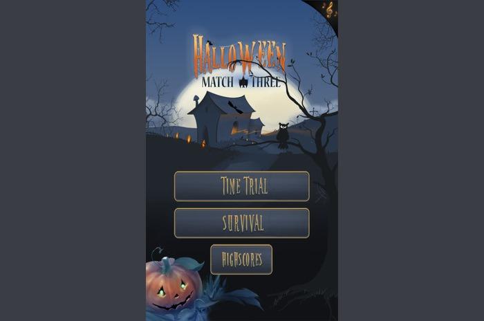 Halloween meci de trei