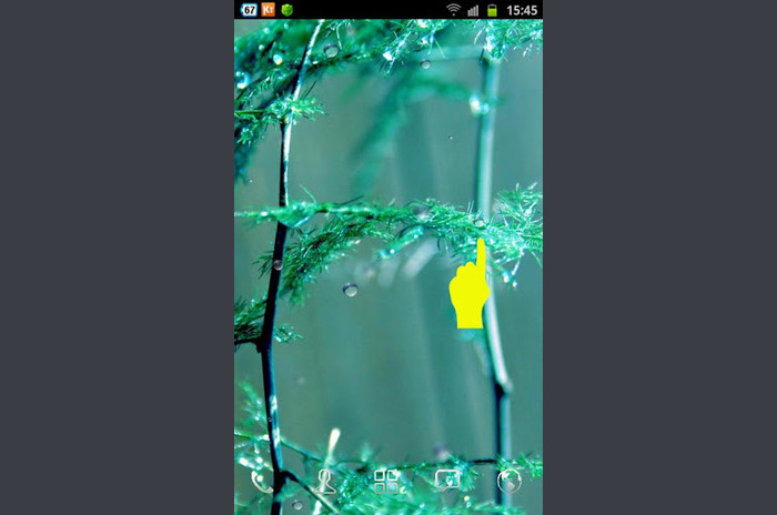Regn Drop Live Wallpaper