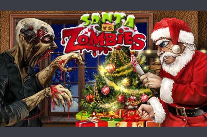 เทียบกับซอมบี้  ซานตา