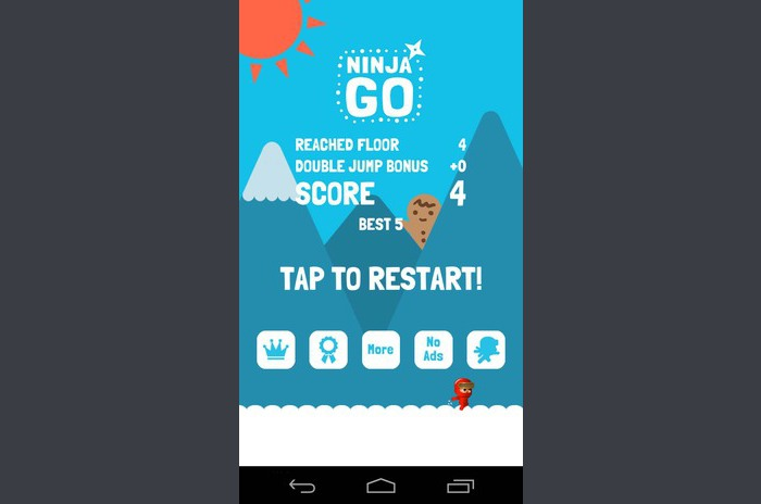Ninja GO: Infinite Jump