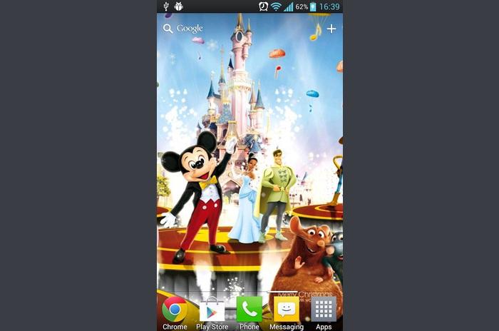 Disney Noel LWP