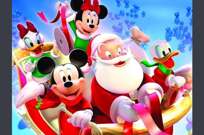 Disney Boże Narodzenie LWP