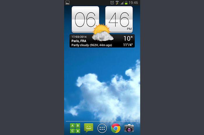 Sense v2 flip-óra és időjárás