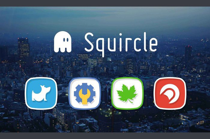 Squircle-Icon Pack