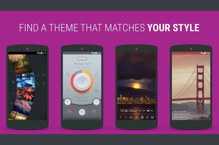 Themer: Launcher, HD tapeter