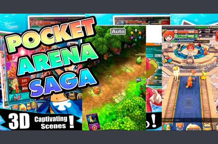 Pocket arénában: Saga