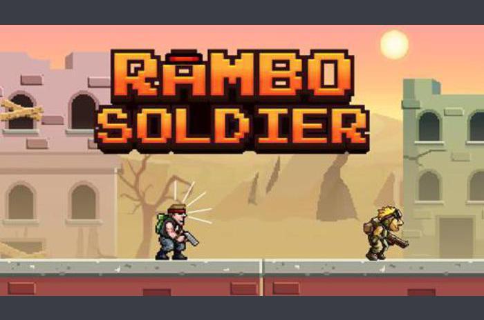 Rambo soldaat