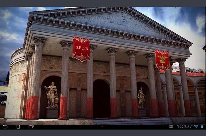 โรม 3D Live วอลล์เปเปอร์