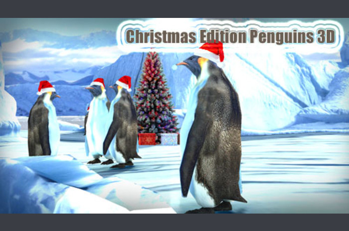 Christmas Edition: Pingwiny 3D