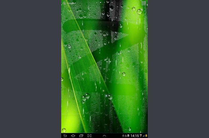 المطر لايف للجدران