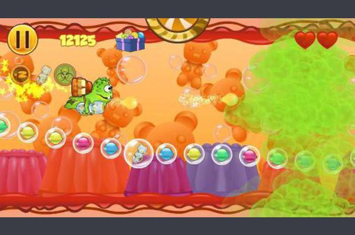 Žaba Candys Yum Yum-