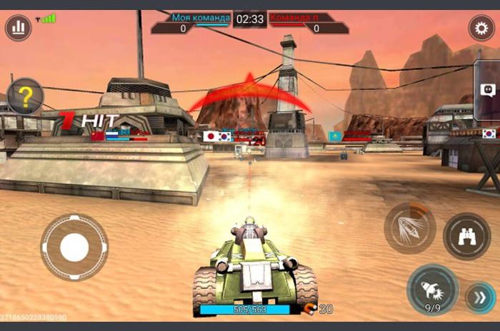 Tank Hit - Tankers