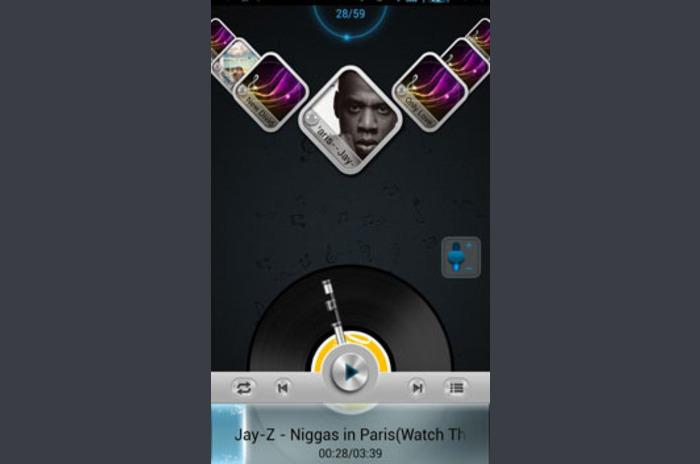 Next Music Widget