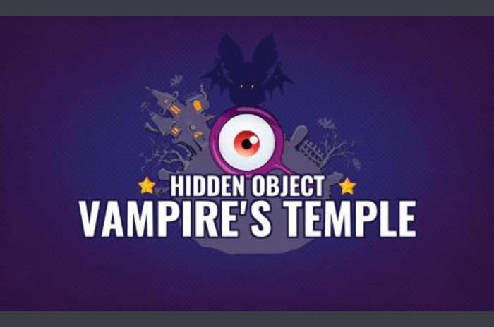 Vampiros templo: objetos ocultos