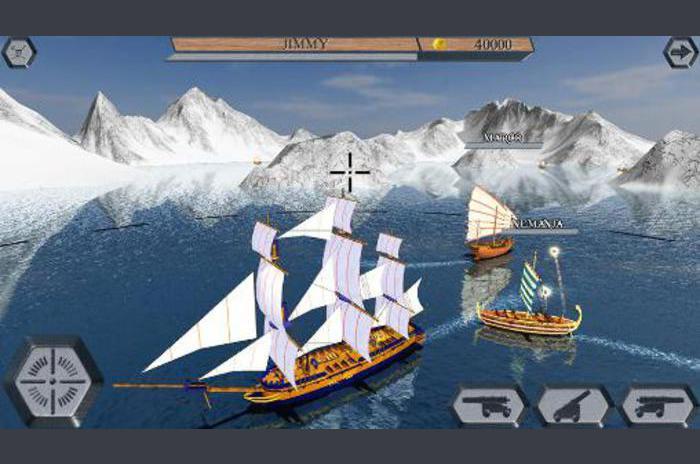 Mundo de los barcos piratas