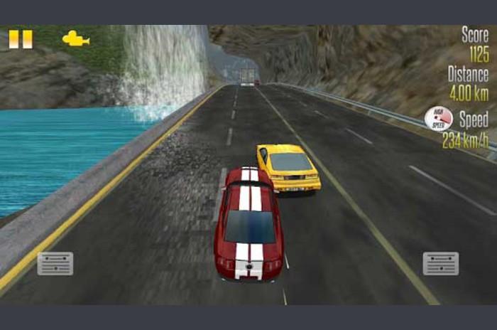Autocesta Racer vs policijskih automobila