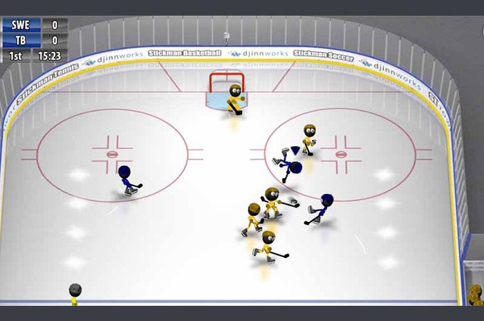 Hockey sur glace Stickman