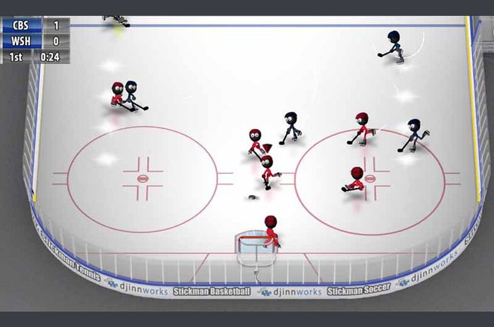 Stickman Ijshockey
