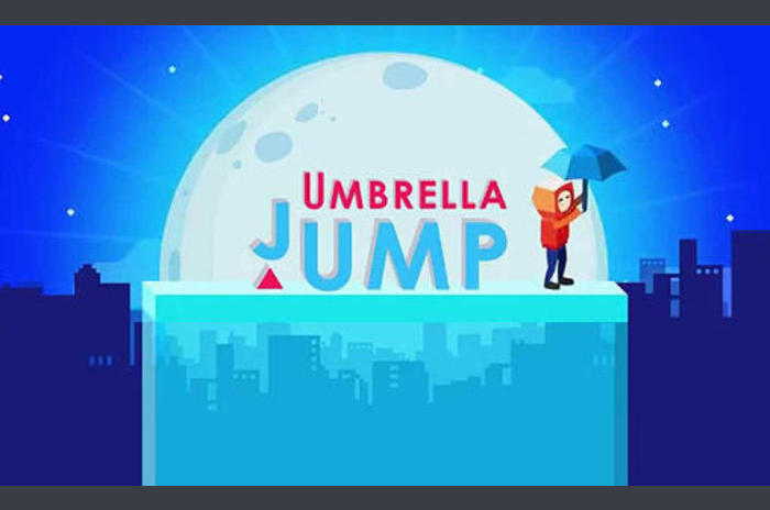 Umbrella Jump: Plateforme Run