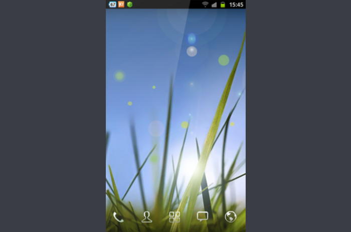 Xperia Z Cool Grass LWP