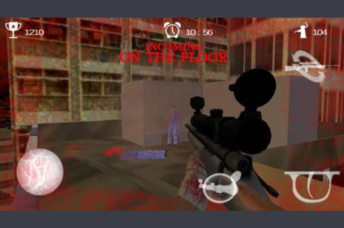 Zombie Asalto Francotirador