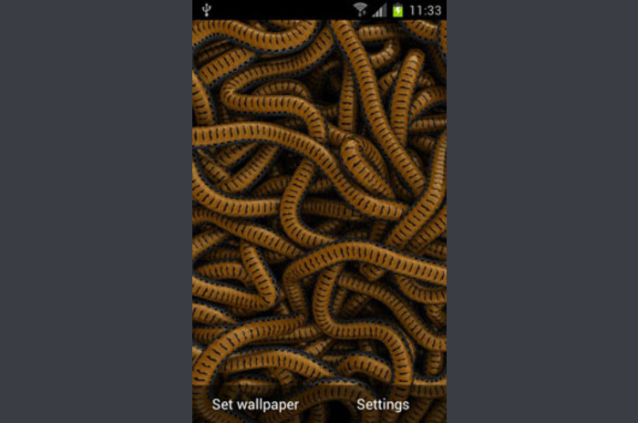 Can of Worms Live Wallpaper