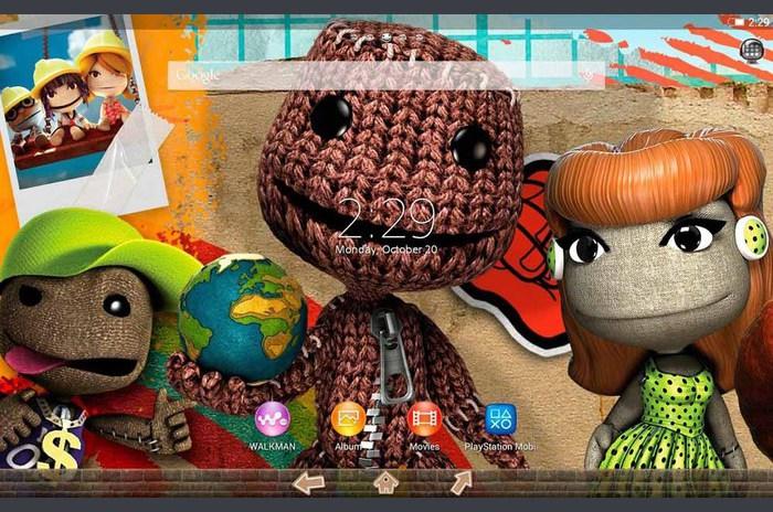 XPERIA ™ LittleBigPlanet téma