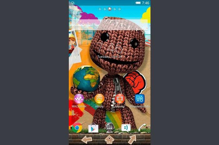 XPERIA ™ LittleBigPlanet Theme