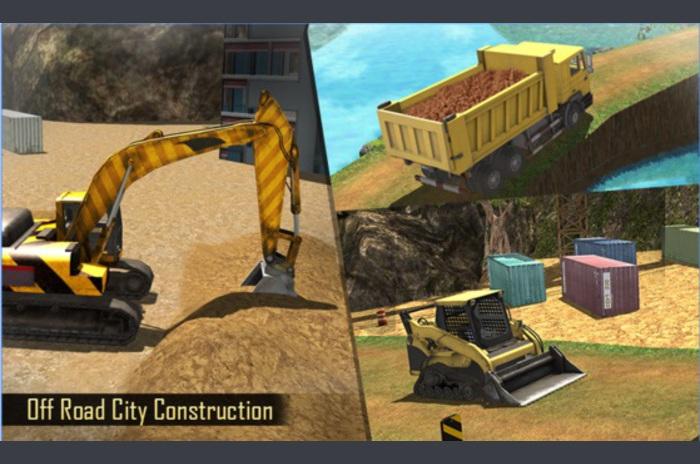Offroad Građevinski Simulator