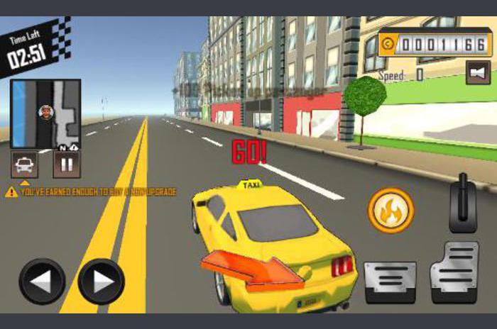 conductor loco: Taxi pieza 3D Duty 2