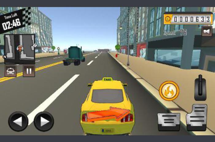 șofer nebun: Taxi datoria 3D partea 2