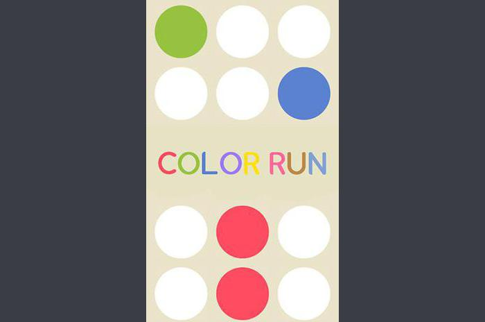 prowadzony kolor