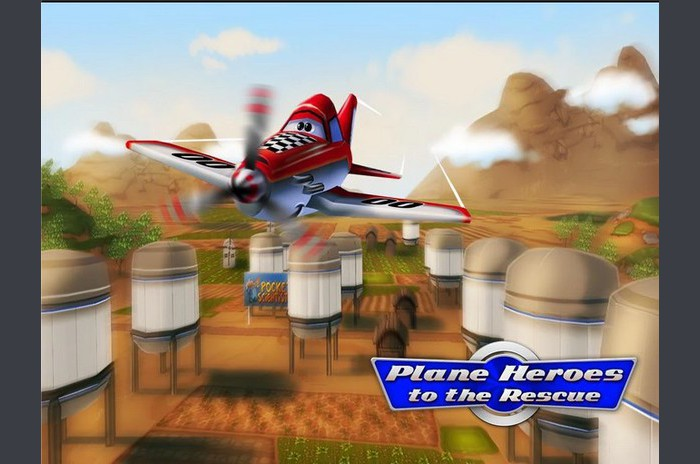 Runner Plane Heroes to the Rescue