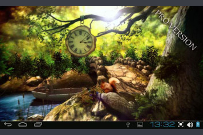 3D แฟนตาซีป่า
