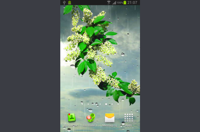 Deszcz Live Wallpaper