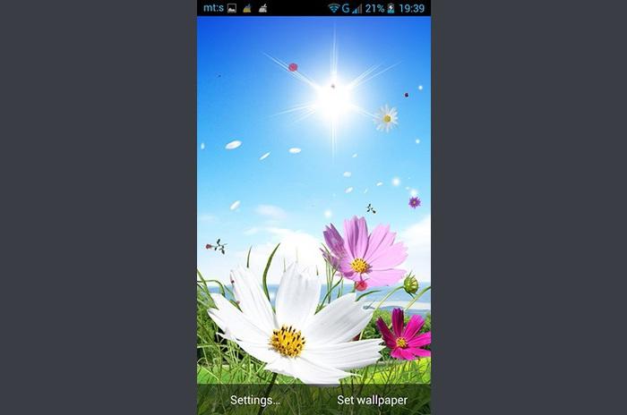 Spring par live wallpapers Pro