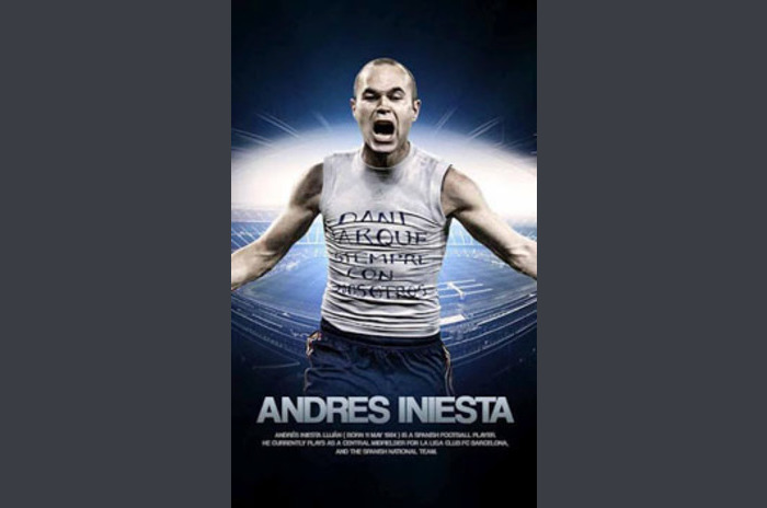 Andres Iniesta Live Wallpapers