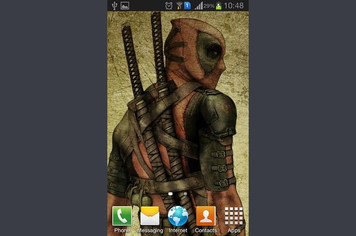 Deadpool uživo Wallpaper