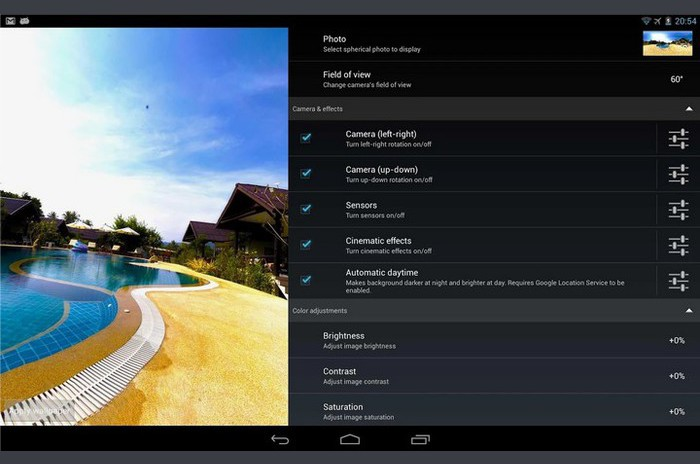 Photosphere HD LiveWallpaper