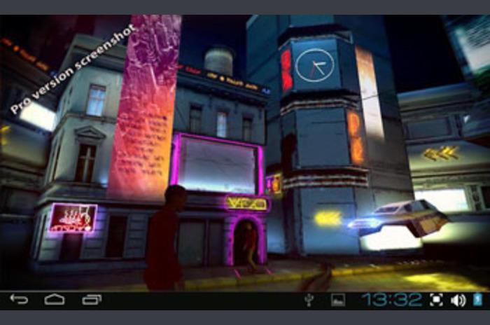 Futurist 3D City Pro LWP