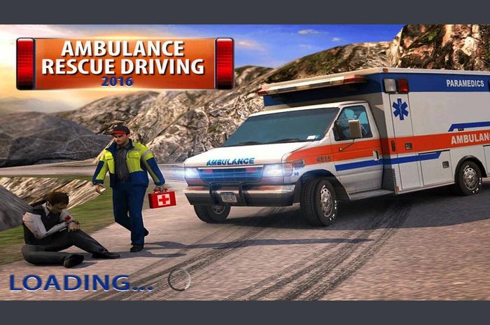 Ambulans Kurtarma Sürüş 2016