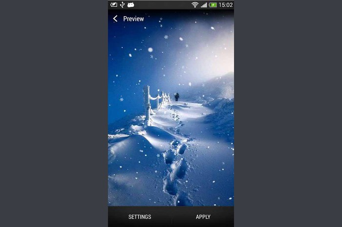 SnowfallLiveWallpapers - Snowfall Live Wallpaper