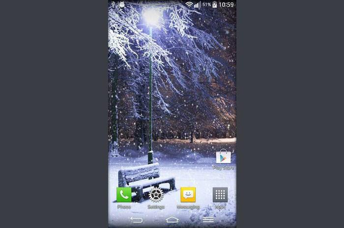 Invierno Live Wallpaper