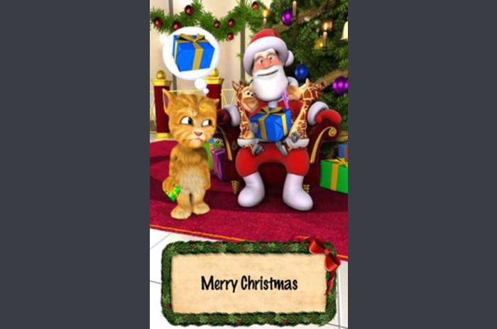 Talking Santa Ginger karşılar