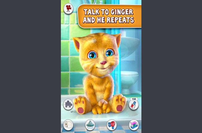 Talking Ginger - Ginger sprekende