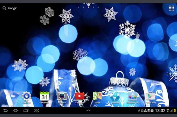 Winter Night Live Wallpaper - Winter Night Live Wallpaper
