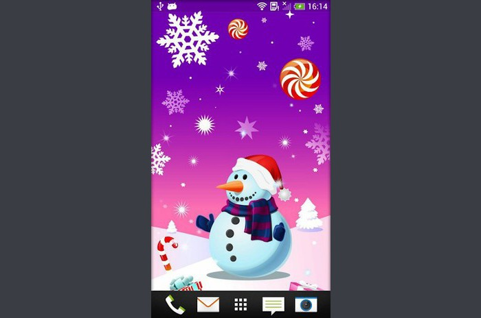 Kerst LiveWallpapers - Christmas Live Wallpaper
