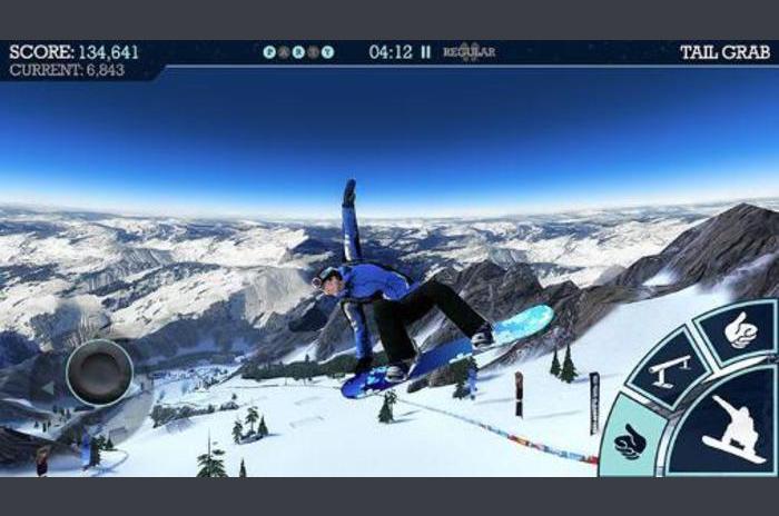 Snowboard Párt